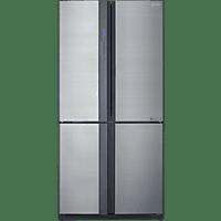 SHARP SJ-EX 820 FSL  French Door (370 kWh/Jahr, A++, 1830 mm hoch, Edelstahl)