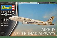 REVELL 63968 MODEL SET AIRBUS A320 ETIHAD Airbus A320 Etihad Modellbausatz, Mehrfarbig