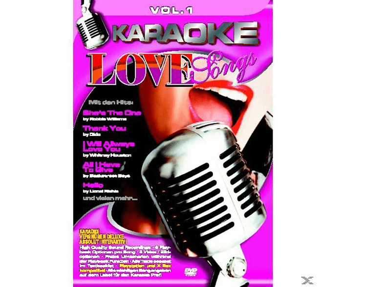 Karaoke - Karaoke Love Songs 1 [5 Zoll Single CD (2-Track)]