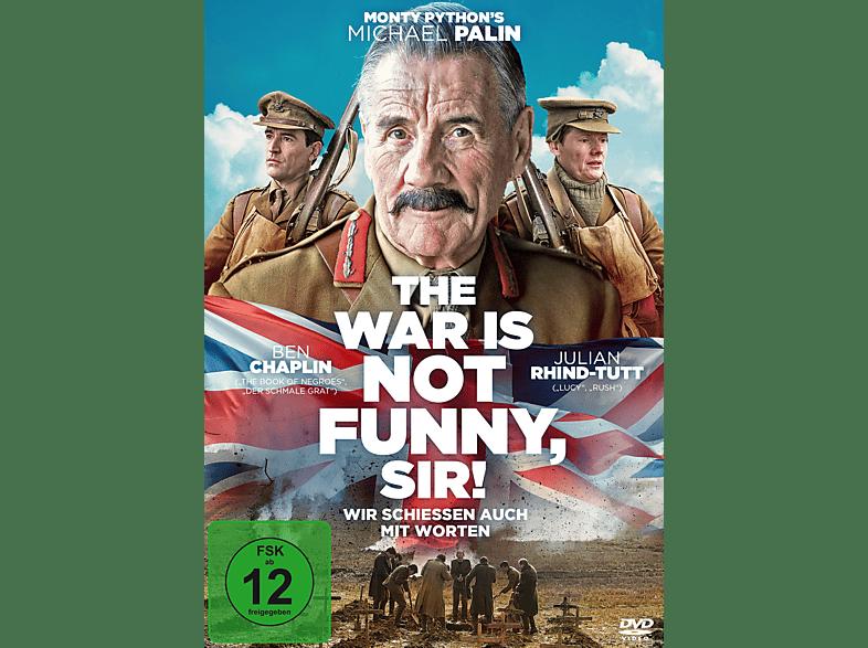 The War Is Not Funny, Sir! - Wir schiessen auch mit Worten [DVD]