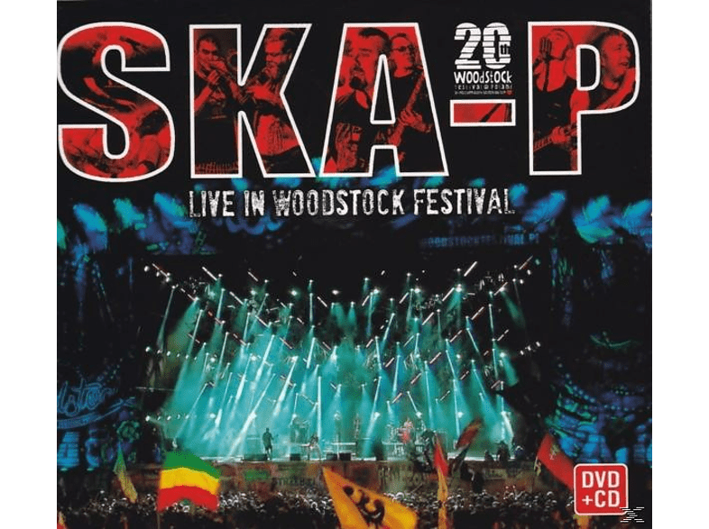 Ska-P - Live in Woodstock Festival (CD/DVD) [CD + DVD Video]