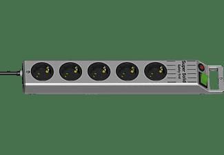 BRENNENSTUHL Steckdosenleiste Super-Solid-Line 5-fach 2.5 m, silber