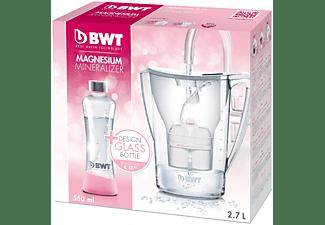BWT Penguin 2.7l + 1 Kartusche + Glasflasche (550 ml), weiß