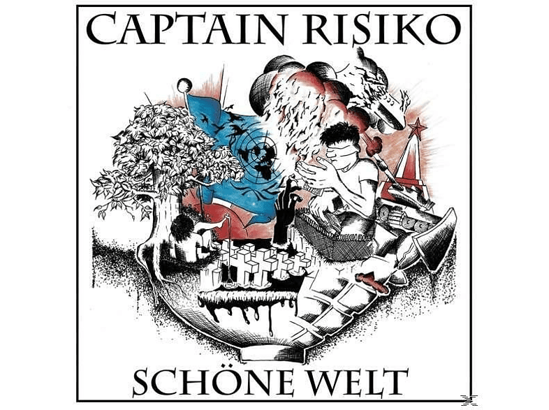 Captain Risiko - Schöne Welt (180 Gr./+Download) [Vinyl]
