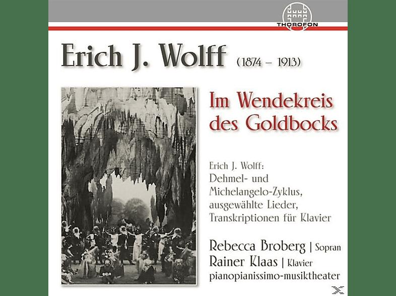 Rainer Klaas R.broberg - Erich J.Wolff-IM Wendekreis des Goldbocks [CD]