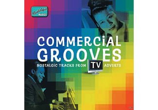 VARIOUS - Commercial Grooves: Tv Adverts  - (CD)
