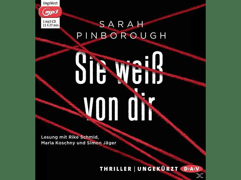 Sarah Pinborough - Sie weiß von dir - (MP3-CD)