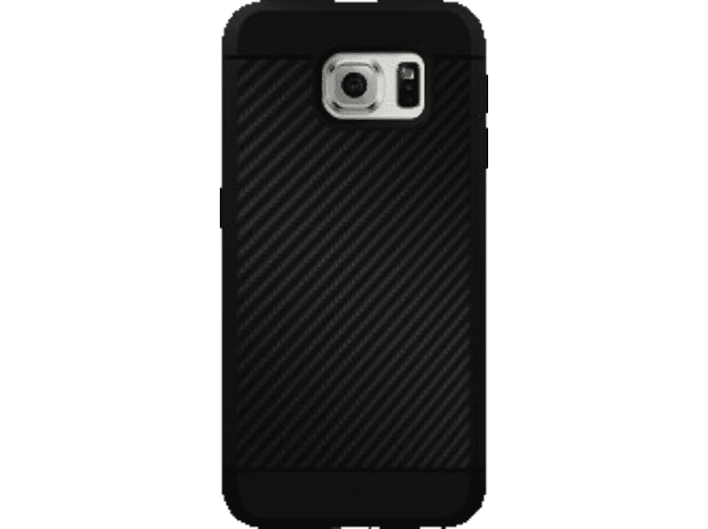 "BLACK ROCK ""Material Case Real Carbon"" , Backcover, Samsung, Galaxy S7, Carbon/Kunststoff/Polycarbonat/Thermoplastisches Polyurethan, Schwarz"