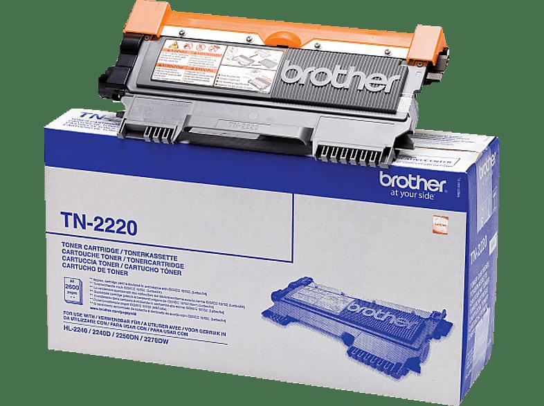 BROTHER TN-2220 Tonerkartusche Schwarz