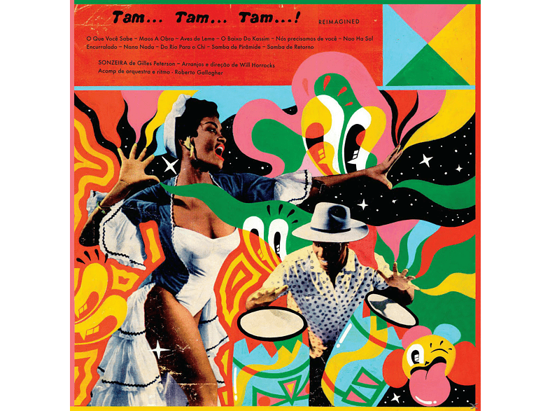 Gilles Peterson, Sonzeira - Tam Tam Tam Reimagined (LP+MP3) [LP + Download]