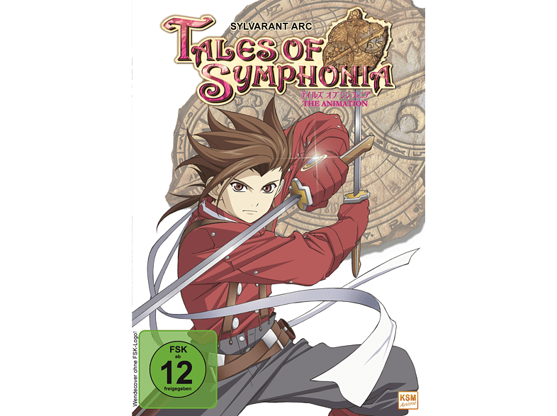 Tales of Symphonia The Animation: Sylvarant Arc 2007 (4 OVAs)  [DVD]