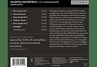 Simon Smith - Klaviersonaten  - (CD)