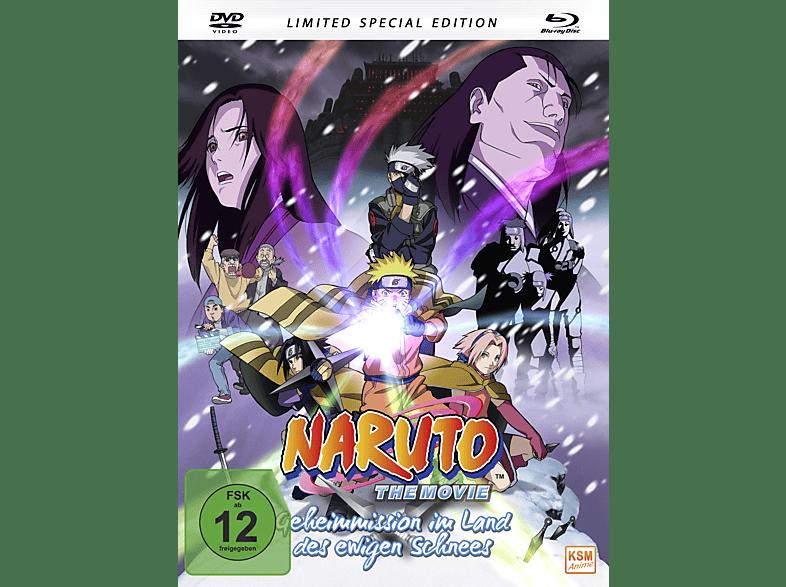 Naruto The Movie – Geheimmission im Land des ewigen Schnees [Blu-ray + DVD]