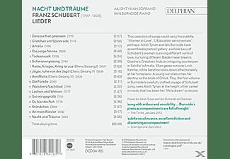 Iain Burnside, Ailish Tynan - Nacht Und Träume  - (CD)