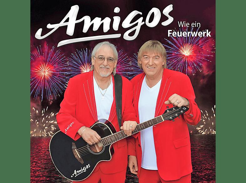 Die Amigos - Wie ein Feuerwerk [CD]