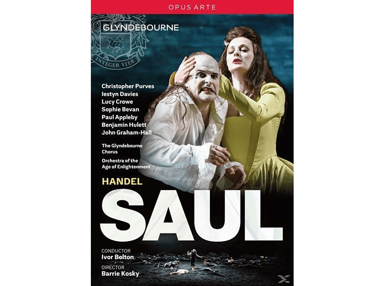 VARIOUS, Orchestra Of The Age Of Enlightenment, Glyndebourne Chorus - Saul [DVD]
