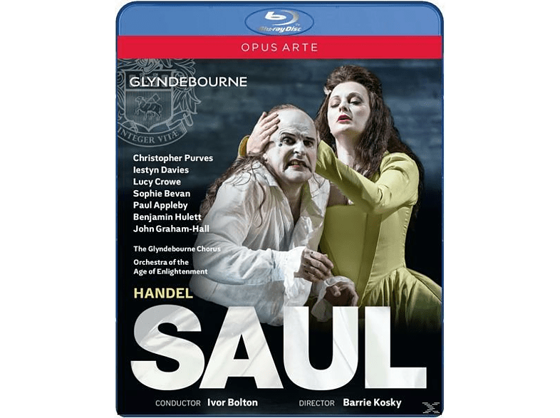 VARIOUS, Orchestra Of The Age Of Enlightment, Glyndebourne Chorus - Saul [Blu-ray]