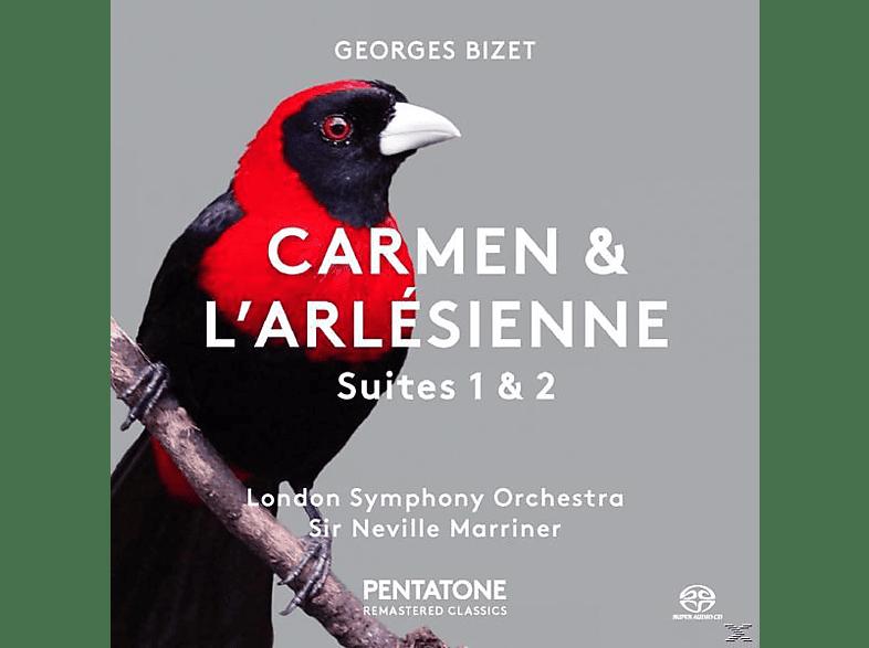 Sir Neville Marriner, London Symphony Orchestra - Carmen-Suite/L'Arlesienne-Suite [SACD Hybrid]
