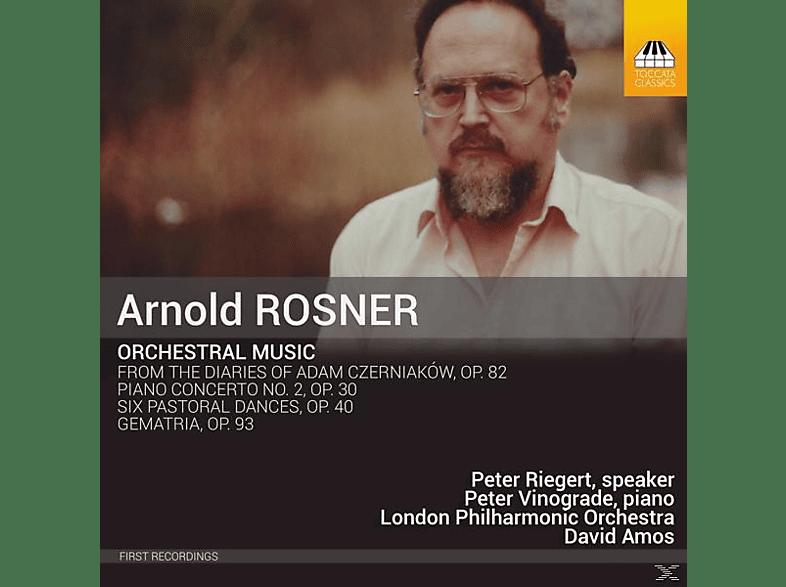 Peter Vinograde, Peter Riegert, The London Philharmonic Orchestra - Orchesterwerke [CD]