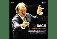 Nikolaus Harnoncourt, Concentus Musicus Wien - Grosse Kantaten [CD]