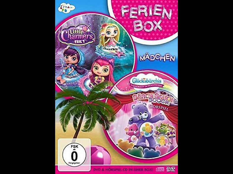 Ferienbox: Mädchen - Little Charmers Teil 1, Glücksbärchis Bärchi-Bauch-Boogie [DVD + CD]