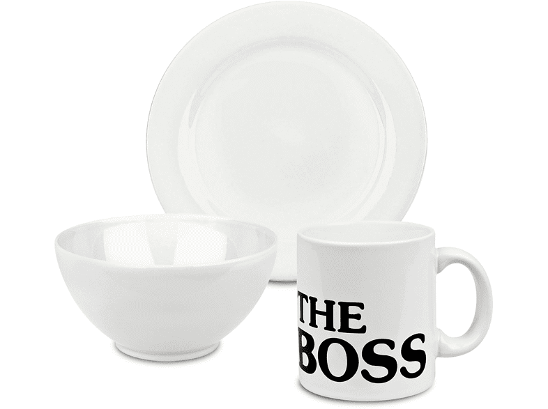 WÄCHTERSBACH 41 5 500 4082 The Boss 3-tlg. Frühstücks-Set