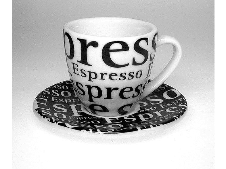 KÖNITZ 17 5 001 1000 8-tlg. Espresso-Tassen-Set