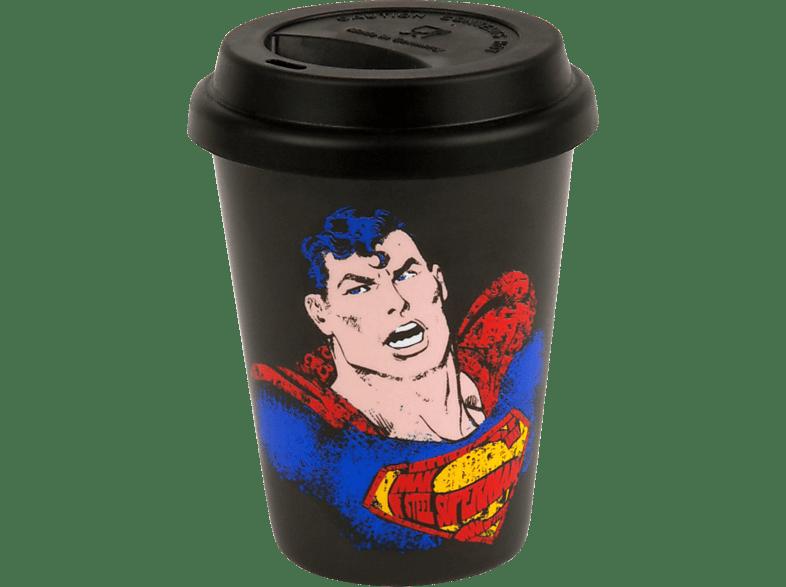 KÖNITZ 11 5 162 2093 Superman - Text Art 2-tlg. Trinkbecher