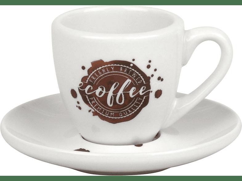 KÖNITZ 17 5 001 2034 Coffee Spot 8-tlg. Espresso-Tassen-Set