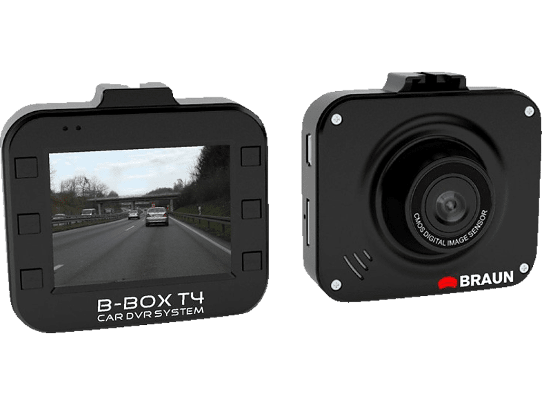 BRAUN PHOTOTECHNIK 57601 B-Box T4 Dashcam Full-HD, 5.08 cm Display
