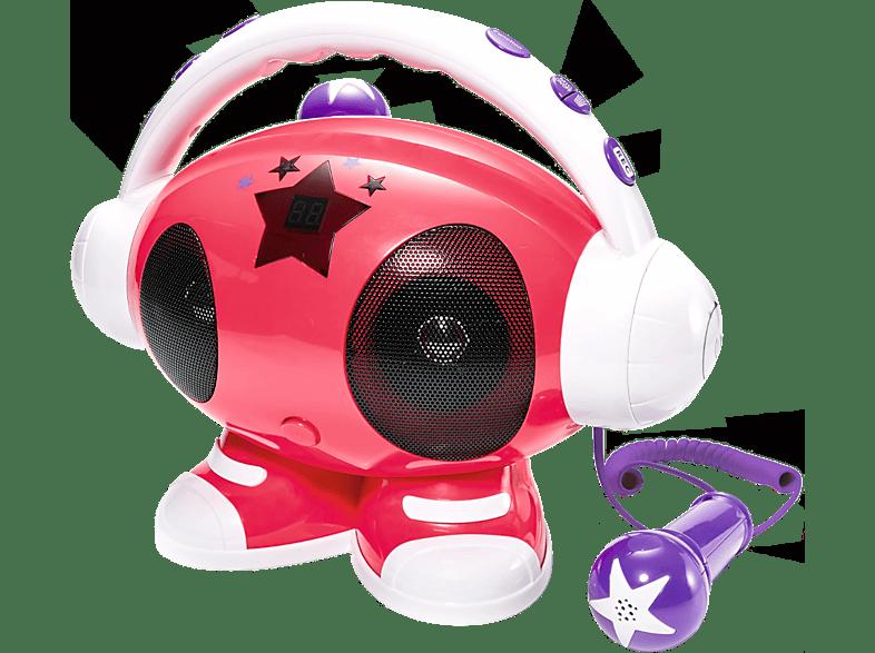 BIGBEN Draagbare Karaoke MP3-speler USB Emma Roze (ROBOT02)