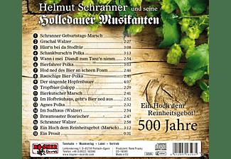 Helmut u.s.Holledauer Musik. Schranner - Ein Hoch den Reinheitsgebot  - (CD)