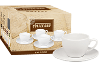 KÖNITZ 175A080001 Coffeebar neutral 8-tlg. Kaffee-Tassen-Set
