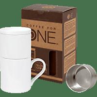 KÖNITZ 11 5 618 0000 Coffee For One Neutral Tasse mit Kaffeefilter
