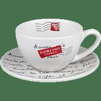 KÖNITZ 1750042600 Coffee Bar - Amore Mio 8-tlg. Cappucchino-Tassen-Set