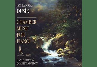 Hanus Barton, Apollon Quartett - Quintett op.41-Sonate op.77-Quartett op.56  - (CD)