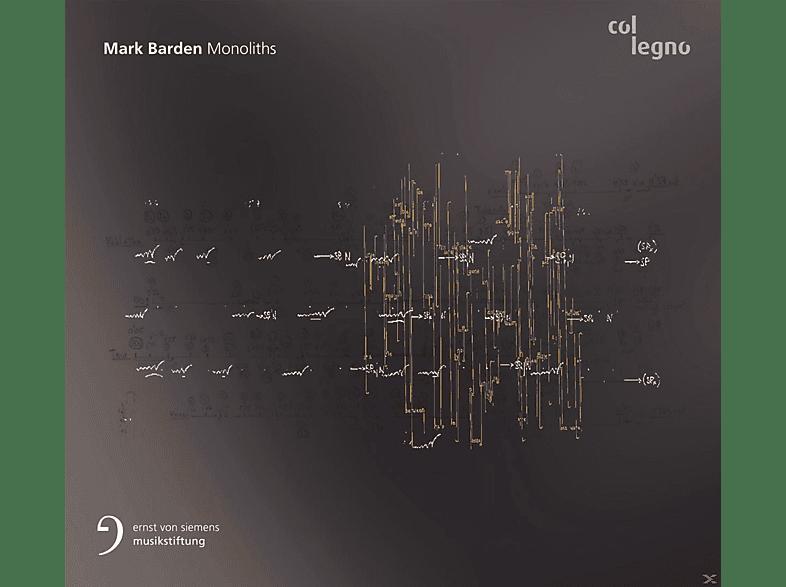 Klangforum Wien, Kammerens.Neue Musik Berlin - Monoliths [CD]