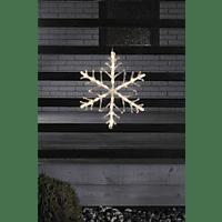 KONSTSMIDE 4540-103 LED Schneeflocke,  Transparent,  Warmweiß
