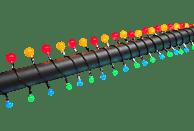 KONSTSMIDE 3680-507 LED Lichterkette,  Schwarz,  Mehrfarbig
