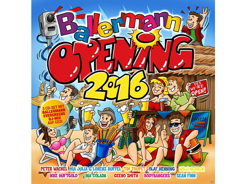 VARIOUS - Ballermann Opening 2016 [CD]