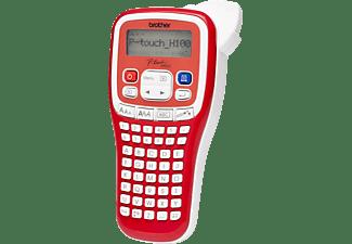 BROTHER PT-H100R Beschriftungsgerät Rot/Weiß