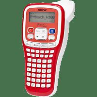 BROTHER PT-H100R Beschriftungsgerät, Rot/Weiß