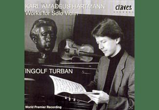 Ingolf Turban - Werke Für Violine solo  - (CD)