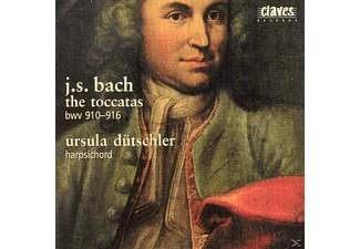 Ursula Duetschler - Die Toccaten BWV 910-916  - (CD)