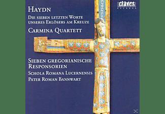 Carmina Quartet - Die Sieben Letzten Worte/7 gregorian.Responsorien  - (CD)