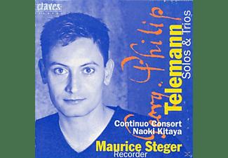 Maurice Steger - Solos und Trios  - (CD)