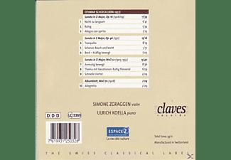 Koella - VIOLINE-& KLAVIERSONATE 1-3  - (CD)