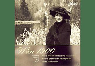 Maria Riccarda Wesseling - Wien 1900.Lieder Für Sopran und Ensemble  - (CD)