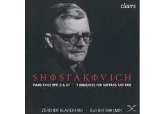 Zürcher Klaviertrio - Klaviertrios op.8 u.67/7 Romanzen f.Sopran u.Trio  - (CD)
