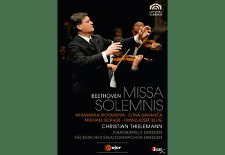 Staatskapelle Dresden, Sächsische Staatsopernchor Dresden, Thielemann Christian - Missa Solemnis  - (DVD)